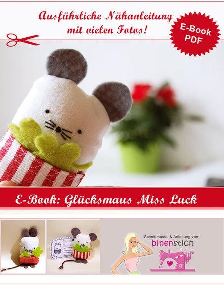 E-Book, Nähanleitung: Glücksbringer Maus