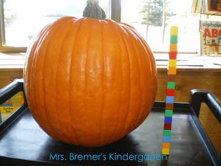 Mrs. Bremer's Kindergarten: Pumpkin Activities