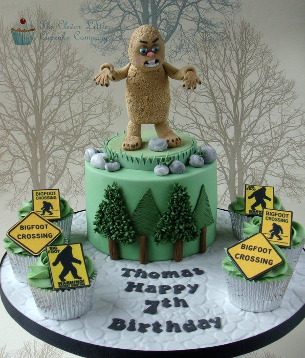 Bigfoot Cake Images : Pin by ktk on CAKE INSPIRATION Pinterest