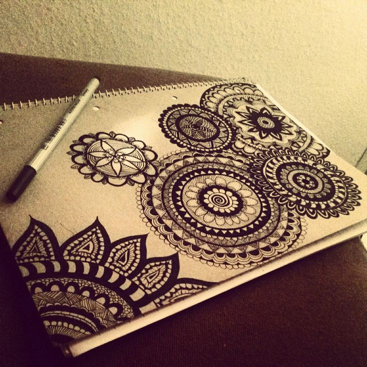 Mehndi Zentangle : Best hennas images on pinterest mandalas drawings