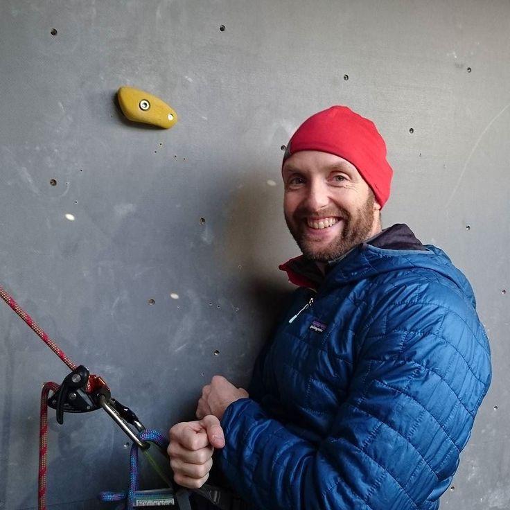 Himself  som klatre instruktører på Abseil og anker kursus i Kolding klatreklub.  #koldingklatreklub #climbinginstructor  #climbing #klatreinstruktør #klatre