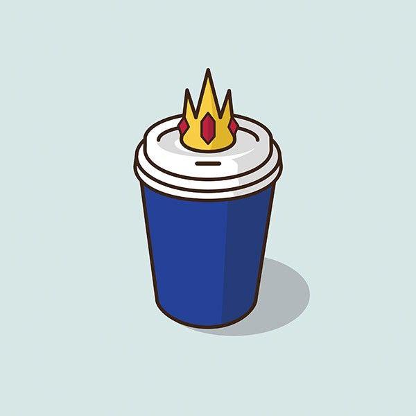 Les icônes de la culture pop moulées dans des tasses par Jacob Parr