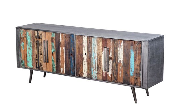 NORDIC TV UNIT SIDEBOARD Dimensions: W=200 D=45 H=77 00878