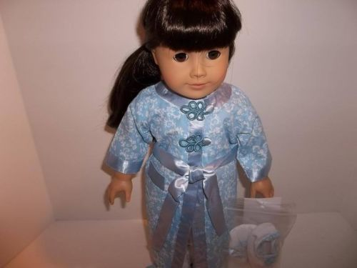 Historical-Victorian-Bathrobe-Slippers-made-for-18-American-Girl-Doll-Clothes