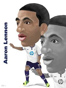 Aaron Lennon - A speed demon down the right!