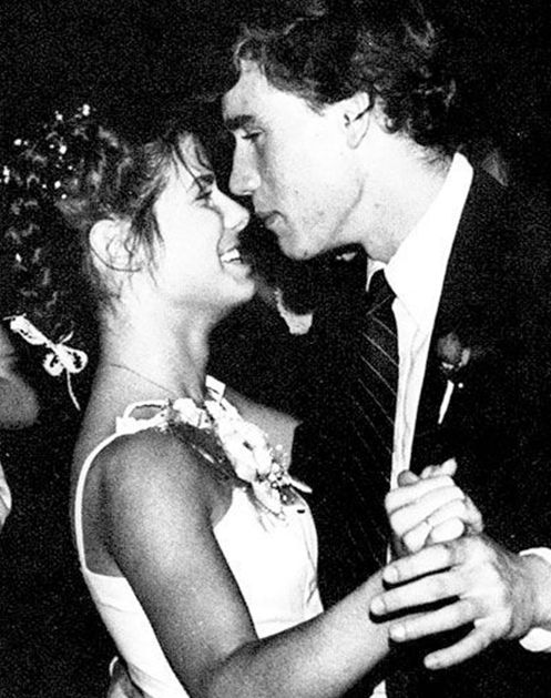 10 Awkward Celebrity Prom Photos via @PureWow: SANDRA BULLOCK Awwwww, young love.