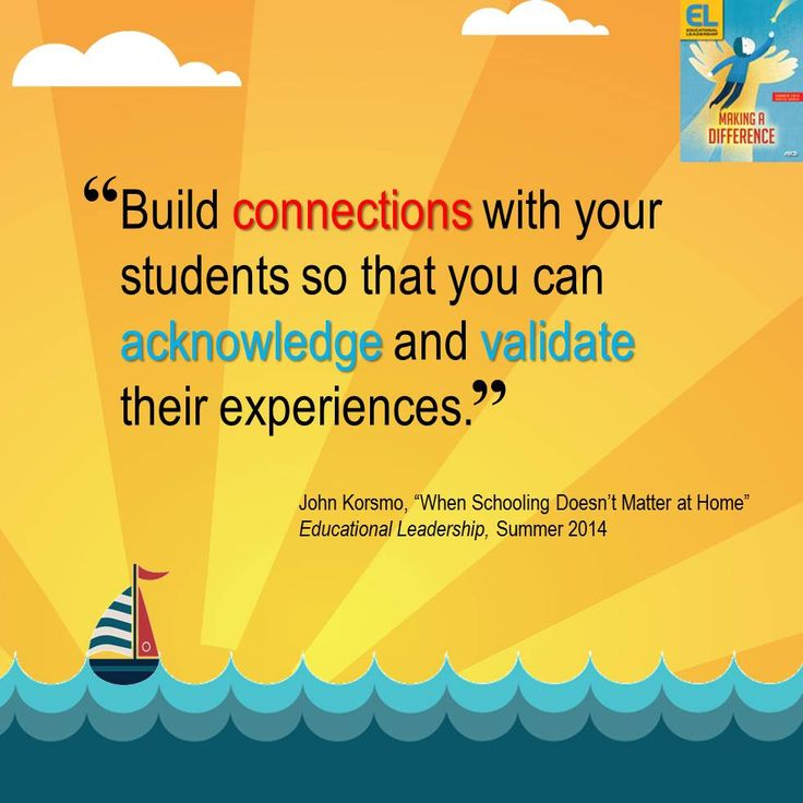 transformative relationship building with students