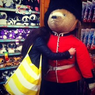 Anyone for a 6ft tall military teddy bear? If you are, get to Hamley's on London's Regent's Street. It's the best toy store in the land.