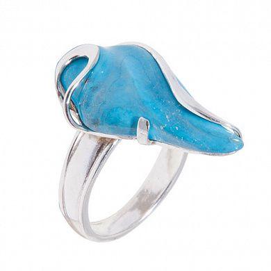 Кольцо из серебра с натуральной бирюзой 7,90 арт. 520310006 купить по цене 3 899 руб. в интернет магазине Koko-Loko