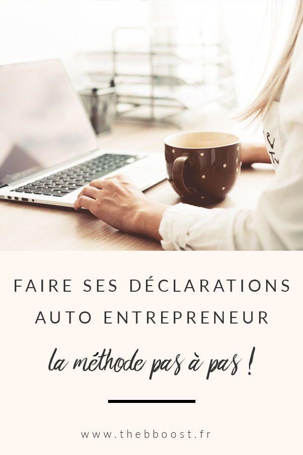 Comment Declarer Son Ca En Auto Entrepreneur Legal Juridique