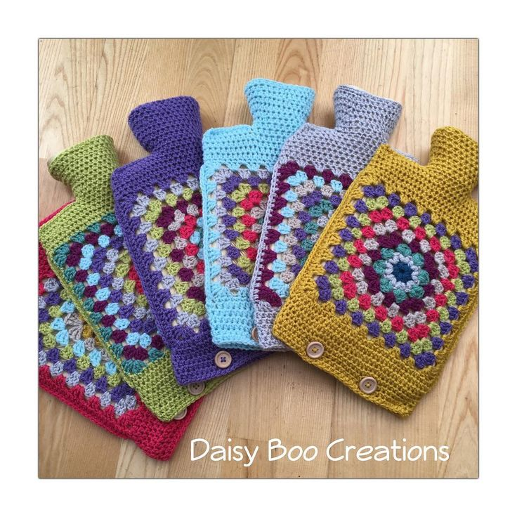 Hot water bottles finished yaaaay! What's next ?!? #daisyboocreations #daisyboo #hotwaterbottle #crochethotwaterbottle     #Regram via @daisyboocreations