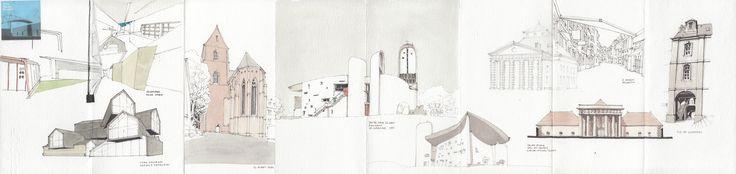Vitra Showroom / St. Alban Basel / Notre Dame du Haut Ronchamp / Saline Royale Arc-et-Senans / Besançon | von Flaf