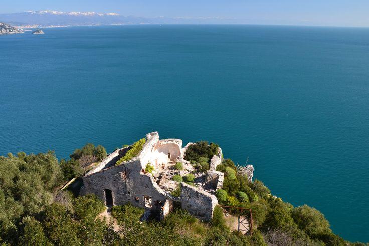 Infinite. Blue. Hiking in the Riviera delle Palme! #beautifuliguria www.beautifuliguria.com
