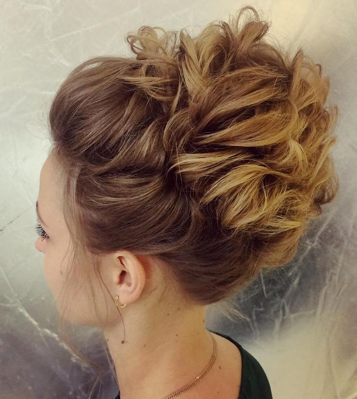 Prom Hairstyles For Thin Hair: 17 Best Ideas About Thin Hair Updo On Pinterest