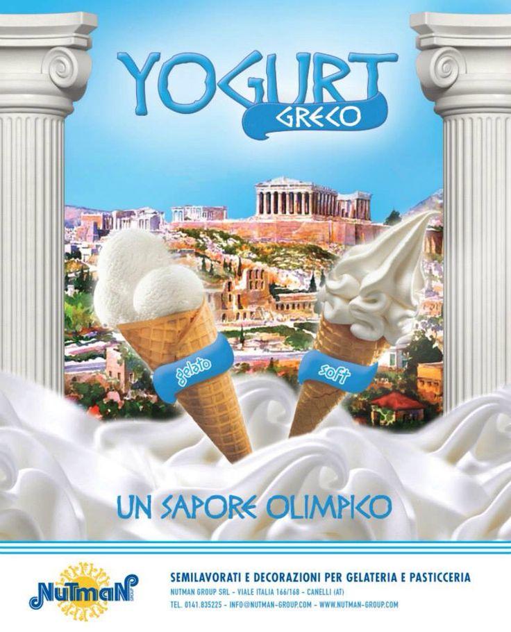 YOGURT GRECO: compatto e cremoso, utilizzabile sia come classico gelato artigianale sia come prodotto per macchine gelato espresso soft!!