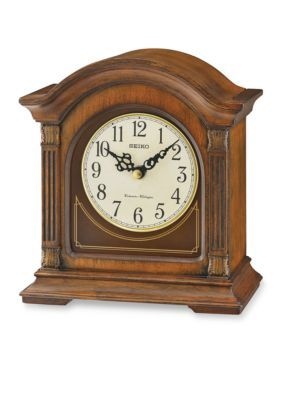 Seiko  Traditional Classics Mantel Clock - Brown - One Size