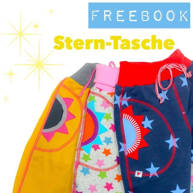 Star Bag, creative Free Book - farbenmix online shop - Sewing Patterns, instructions for sewing