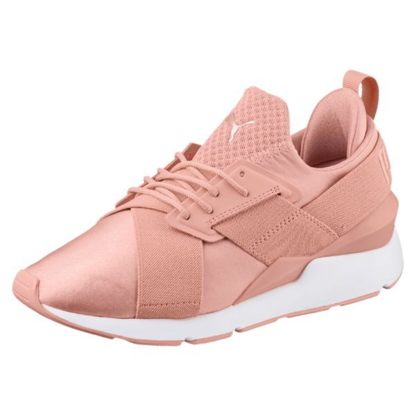 low priced e198a df102 PUMA Basket Muse Satin En Pointe pas cher prix Baskets Femme PUMA 90,00 €  TTC