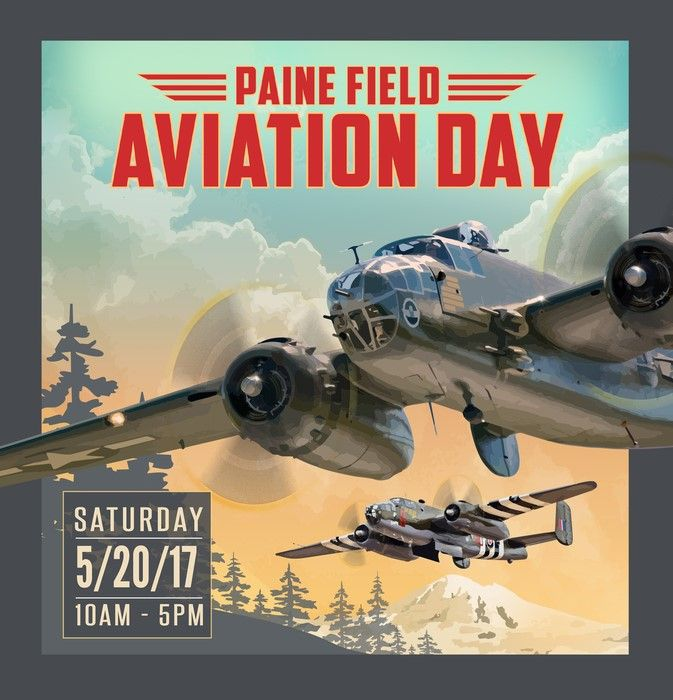 Paine Field Aviation Day The Washington Pilots Association, Flying Heritage & Combat Armor Museum, Historic Flight Foundation, and Paine Field will host the 22nd annual Paine Field Aviation Day on Saturday, May 20th.