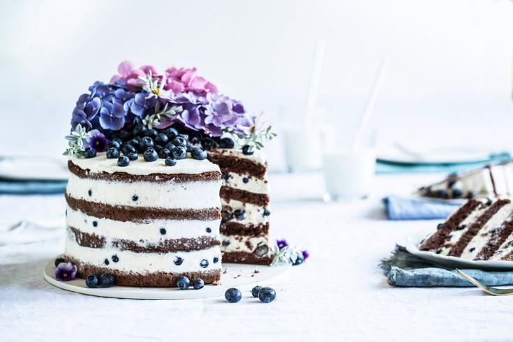 Borůvkovo-citrónový letní dort | KITCHENETTE