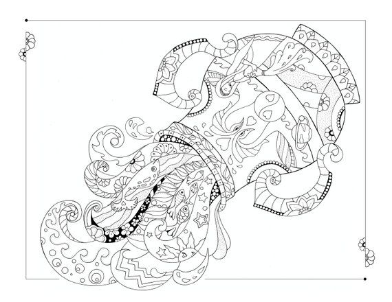 Aquarius Coloring Page Etsy In 2021 Coloring Pages Coloring Books How To Draw Hands