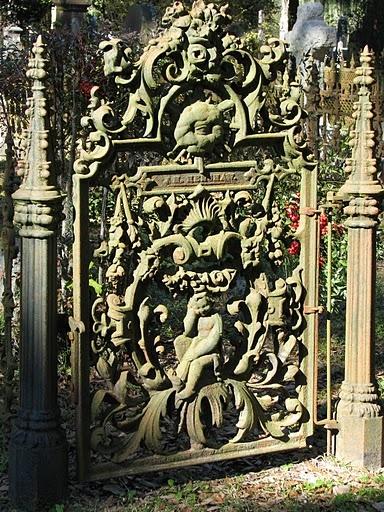 Cemetery Gate Louisiana