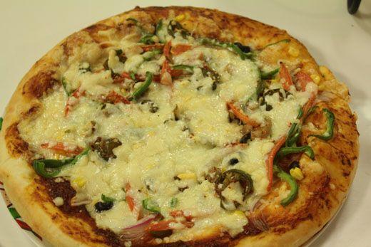 Super Veggie Pizza Recipe by Shireen Anwar – Recipes in Urdu & English