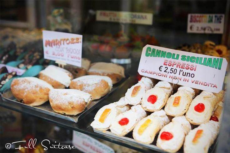 Local pastry shop in Trastevere Rome