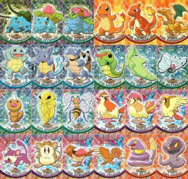Pokemon TOPPS cards