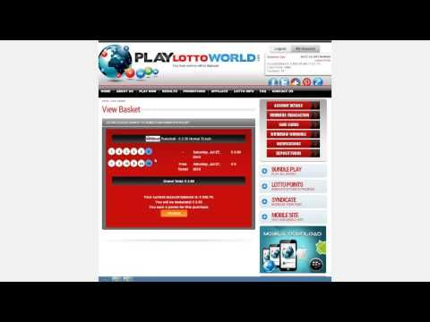 Find the steps of how to play online lottery at playlottoword: http://www.youtube.com/watch?v=yehm5NA08Tw