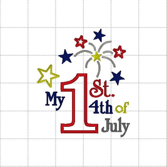 My 1st 4th of July Patriotic USA Holiday by LauraBethDesignsLLC