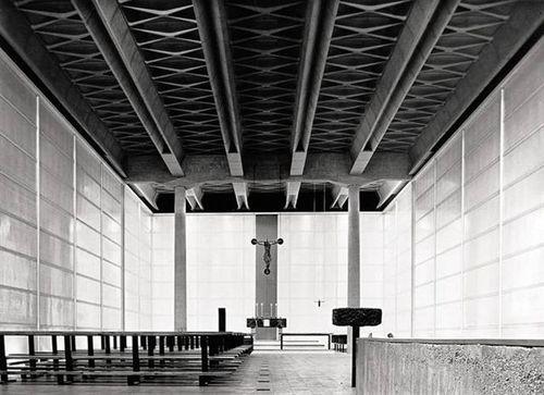 Angelo Mangiarotti - Chiesa Mater Misericordiae, Mailand, 1957
