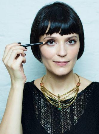 Olho marrom clássico - Vanessa Rozan - Trip TV