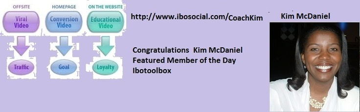 Congratulation   Kim McDaniel Ibotoolbox the business platform  http://www.ibosocial.com/CoachKim