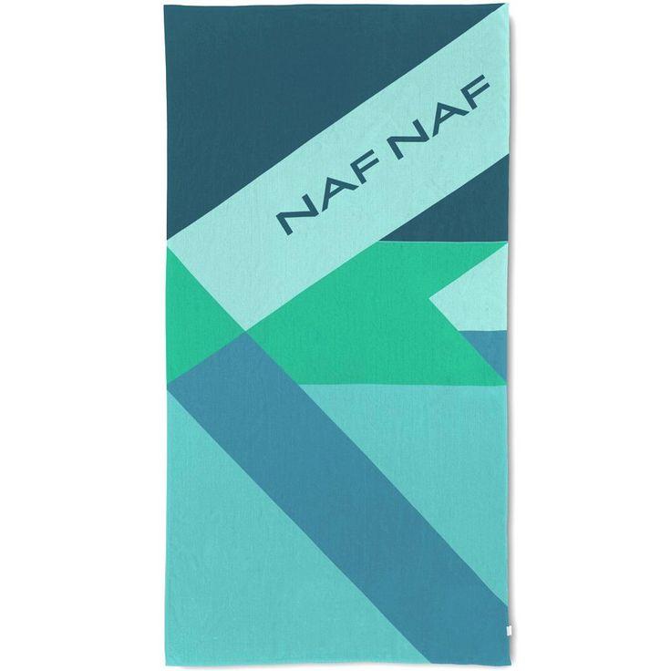 Ręcznik plażowy NAF NAF IPANEMA - welurowe ręczniki plażowe - NieMaJakwDomu
