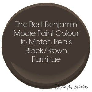Marvelous Top 10 Ikea Kallax Ideas And Paint Colours That Match Ikea Products: Black  Brown And White