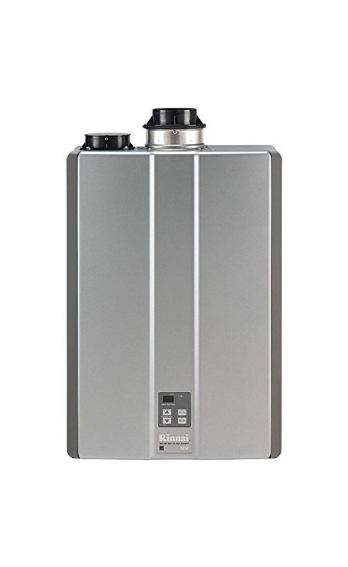 Rinnai RUC90iN Indoor 9.0 GPM Whole House Natural Gas Tankless Water Heater Tankless Water Heaters Whole House Gas/Propane