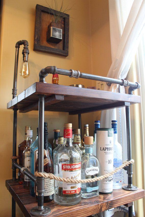 Best 25 Rustic Bar Carts Ideas On Pinterest Bar Cart