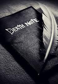death note caderno tumblr