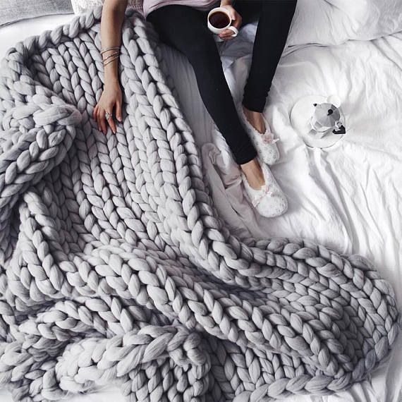 How To Hand Crochet A Blanket In One Hour -