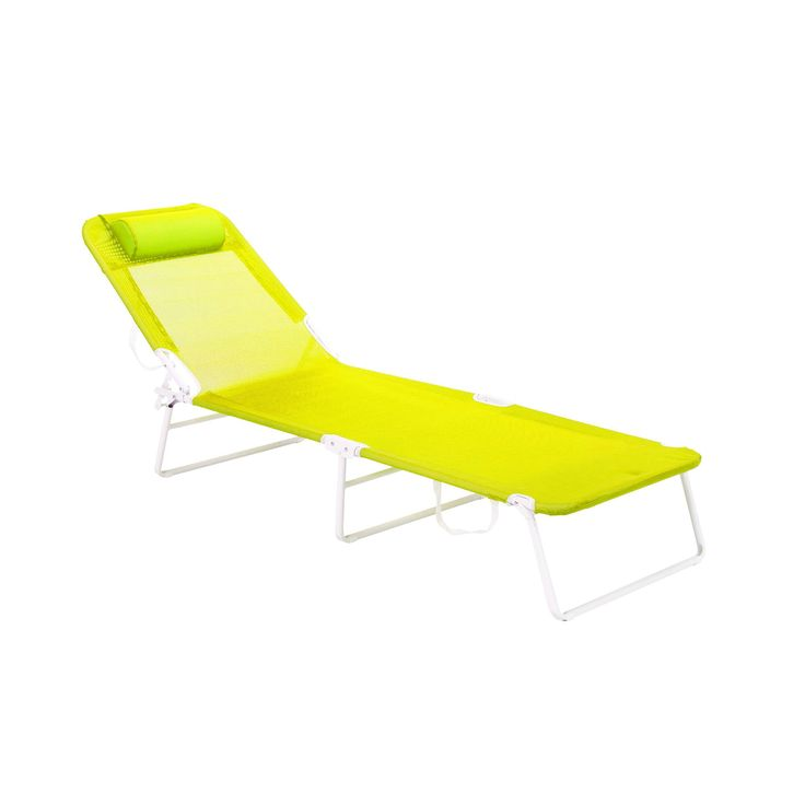 Bain de soleil pliant Vert - Smoothies - Les bains de soleil et transats - Les transats et chaises longues - Jardin - Décoration d'intérieur - Alinéa