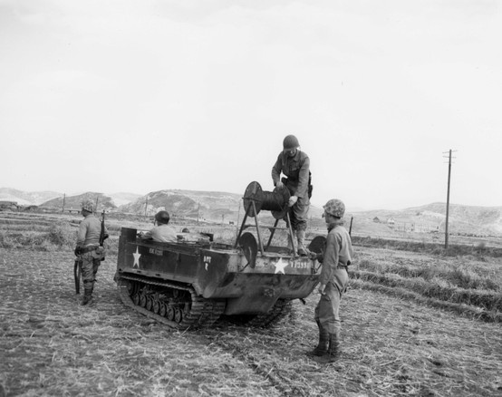 17 best images about wwii interesting images panzer m29 weasel laying wires communication these vehicles were super useful