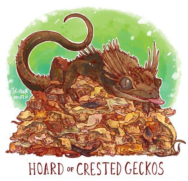 Unusual Dragon Hoards by Lauren Dawson