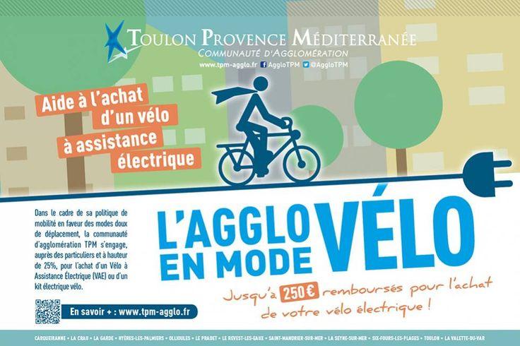 L'usage du vélo électrique et l'exemple de Toulon