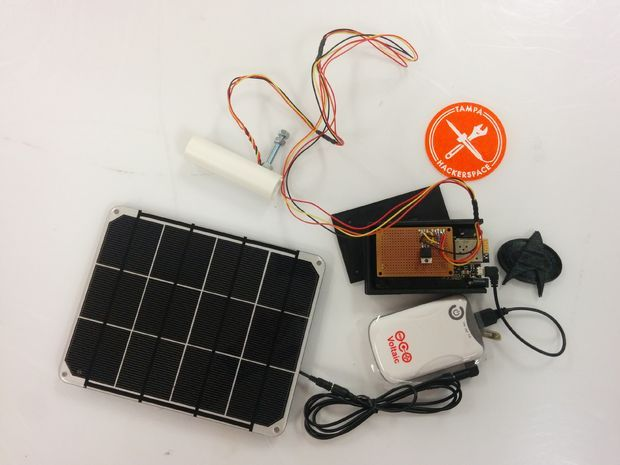 Picture of Voltaic Solar Powered Pollution Monitor