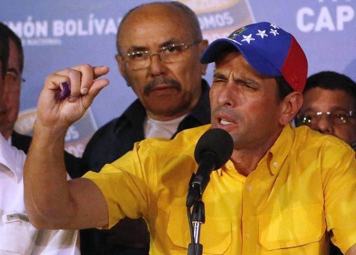 Nicolás Maduro vence en las elecciones en Venezuela - RTVE.es http://www.rtve.es/mediateca/fotos/20130415/nicolas-maduro-vence-las-elecciones-venezuela/109875.shtml