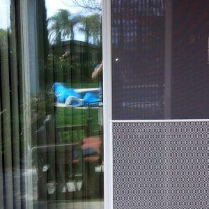 Sliding Patio Screen Door Closer