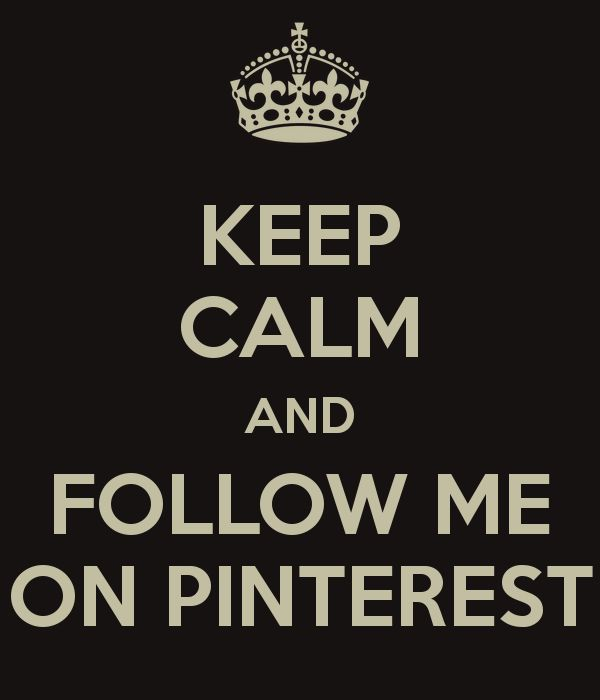 I'm not asking for you to follow me it's just a pin I pinned ;) and if you are following me thank you so much!! :)