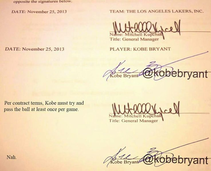 kobe bryant makes  2 years contract with the Lakers
