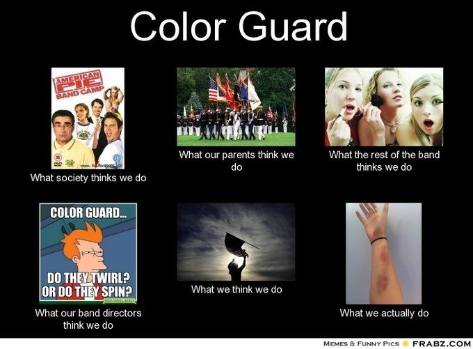 Yeah Color Guard! probably the most accurate one of these I have seen!!!! @Lauren Davison Davison Davison Beard @Ashley Walters Walters Walters Gray @Sara Eriksson Eriksson Eriksson Cabe @b R O O K E // W I L L I A M S Tassa Norman